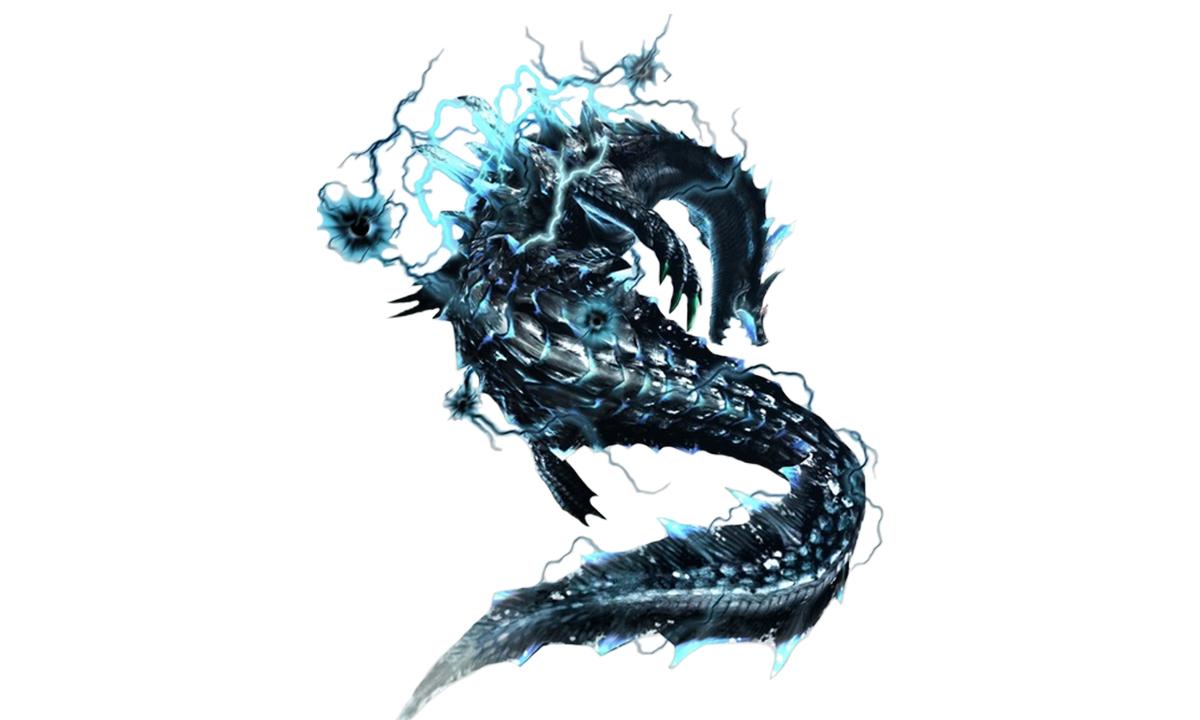 Abyssal Lagiacrus | Animals/Creatures | Monster Hunter ...