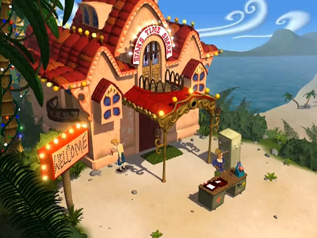 Escape From Monkey Island Stan