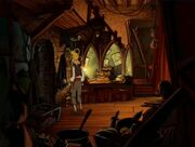 Plunder island theatre dressing room