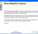 Using Mono Migration Analysis