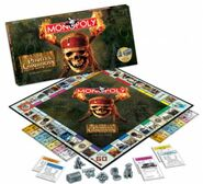 Monopoly Pirates Caribbean Collectors Edition