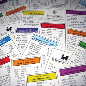 Monopoly title deeds