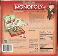 Monopoly Chocolate Edition box rear