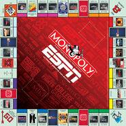 ESPN Monopoly board