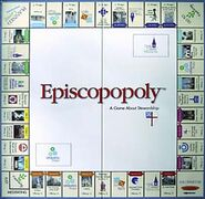 Episcopoly board