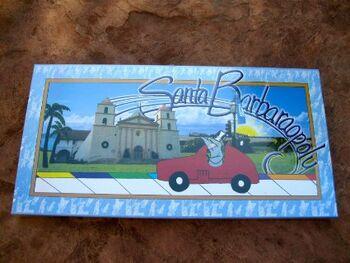Santa barbaraopoly box