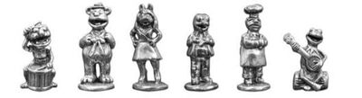 Monopoly Muppets tokens
