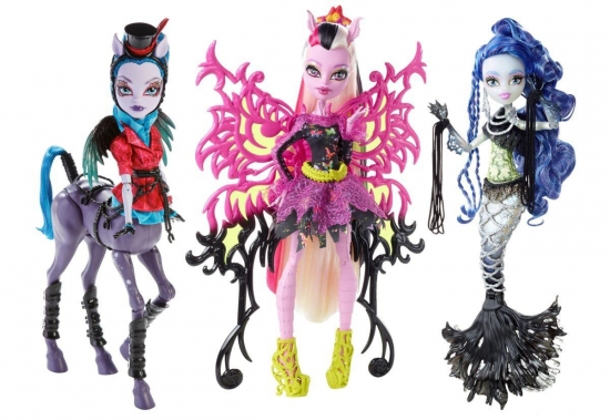 Freaky Fusion Monster High And Ever After