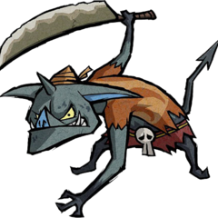 Artwork of Bokoblin from <i>The Wind Waker</i>