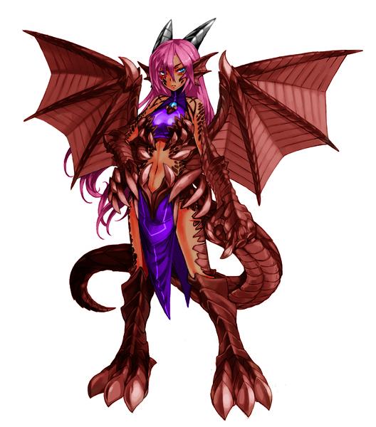image red dragonpng monster girl encyclopedia wiki
