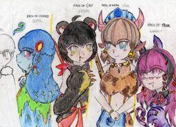 http://monstergirlencyclopedia.wikia.com/wiki/User_blog:JeielYozama/The_Queens_of_OZ_Pt