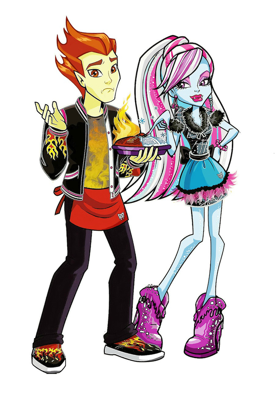 Uncategorized Monster High Abby abbey bominable monster high wiki fandom powered by wikia profile art home ick heath and abbey