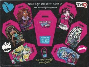 SDCCI 2011 - Ghoul Spirit magnet set