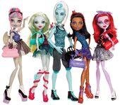 Doll stockphotography - Dance Class 5-pack