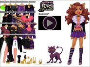 Stardoll - Scaris City of Frights Clawdeen