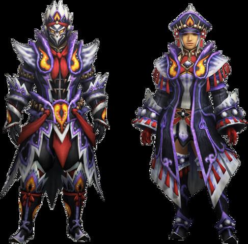 File:MH4U-Kecha Z Armor (Blademaster) Render 001.png