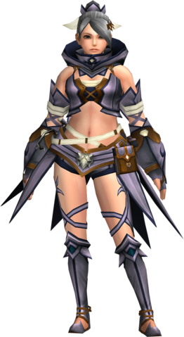 File:FrontierGen-Gania Armor (Female) (Both) (Front) Render 004.png