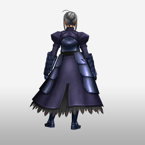 FrontierGen-Knight-King Armor 001 (Female) (Both) (Back) Render