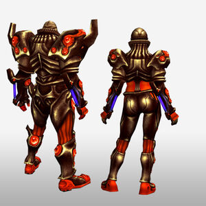 FrontierGen-Genome Armor 003 (Both) (Back) Render