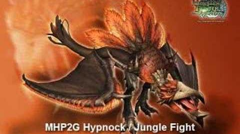 Monster Hunter Freedom Unite Portable 2nd G Hypnock Hypnocatrice Soundtrack