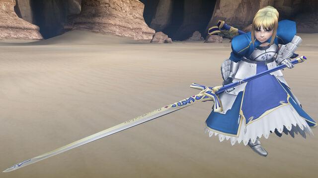 File:FrontierGen-勝利すべき黄金の剣 Screenshot 003.jpg