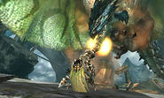 MH4U-Azure Rathalos Screenshot 002