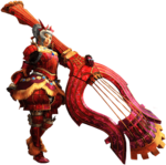 MH4U-Hunting Horn Equipment Render 001