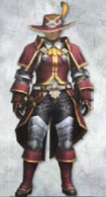 MH3U Guild Bard Armor (Blade)