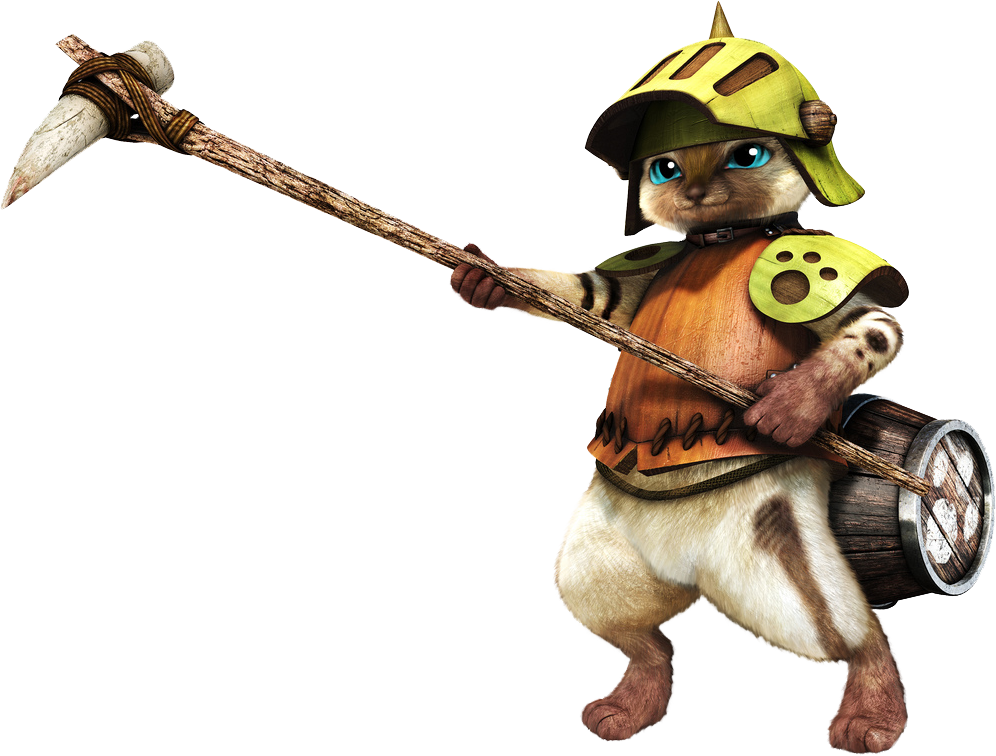 Monster Hunter Felyne Wallpaper Felynecomrade