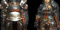 Gypceros Armor (Gunner) (MH4U)