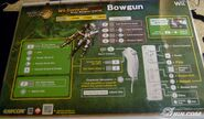 Bowgun controls