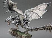 Capcom Figure Builder Creator's Model Silver Rathalos 005