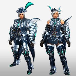 FrontierGen-Jebia G Armor (Gunner) (Front) Render