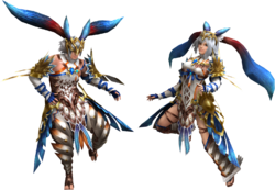 FrontierGen-Torid Armor (Blademaster) (Both) Render 2