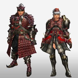 FrontierGen-Iosu G Armor (Blademaster) (Front) Render
