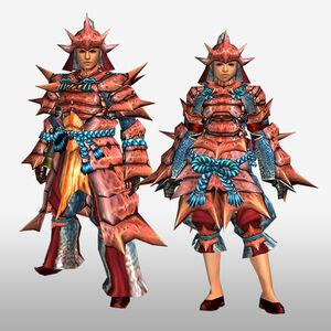 FrontierGen-Kukku G Armor (Blademaster) (Front) Render