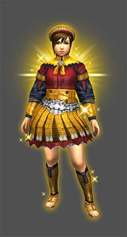 File:MHXR-Gold Aura Armor (Both) (Female) Render 001.jpg