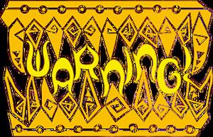 MHP3-Warning Sign