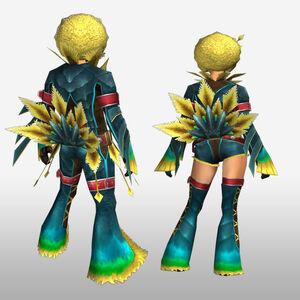 FrontierGen-Faruno G Armor (Blademaster) (Back) Render