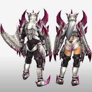 FrontierGen-Bureizu Armor (Both) (Back) Render