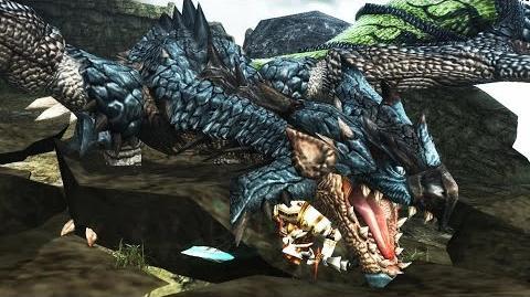 【MHF-G】G級リオレウス亜種討伐 ~爆裂!蒼火竜の火球~【プレイ動画】