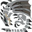 File:MH10th-Silver Rathalos Icon.png