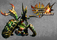 MH4U-Seltas Queen and Seltas Wallpaper 001