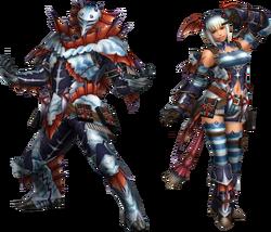 FrontierGen-Sutoroma Armor (Blademaster) Render 2