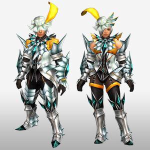 FrontierGen-Akura U Armor 007 (Blademaster) (Front) Render