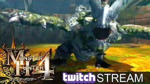 Let's Play Monster Hunter 4 009 - Basarios English commentary online gameplay