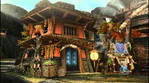Monster Hunter Portable 3rd Yukumo Village Intro Part 2