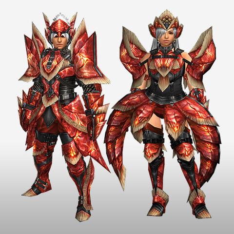 File:FrontierGen-Dikuto Armor (Blademaster) and Diretto Armor (Gunner) (Front) Render.jpg