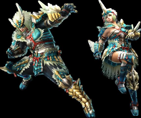 File:FrontierGen-Zinogre Armor (Gunner) (Both) Render 2.png