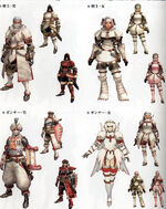 Khezu armor sets